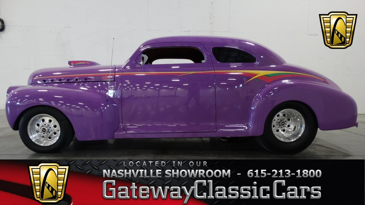 1941 Chevrolet Coupe - Gateway Classic Cars of Nashville #49 - YouTube