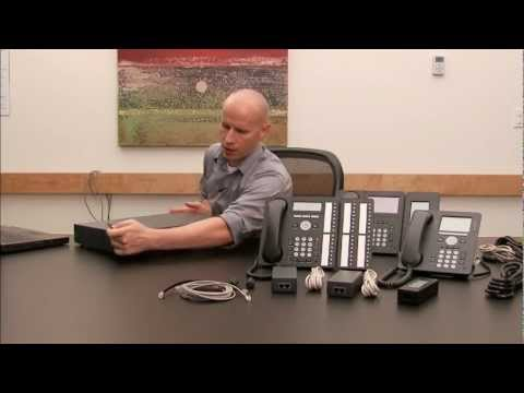 Avaya IP Office Power Demo Setup Video Tutorial