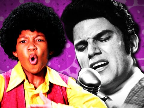 Michael Jackson vs Elvis Presley. Epic Rap Battles of History