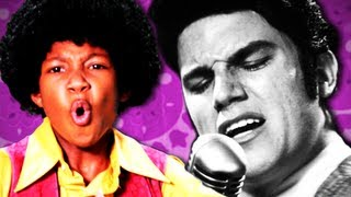 Repeat youtube video Michael Jackson VS Elvis Presley.  Epic Rap Battles of History Season 2.