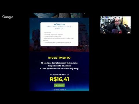 Lançamento Crew Dragon - NASA Demo 1 Ao Vivo