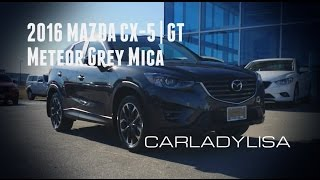 2016 MAZDA CX-5 | GT finished in Meteor Grey Mica