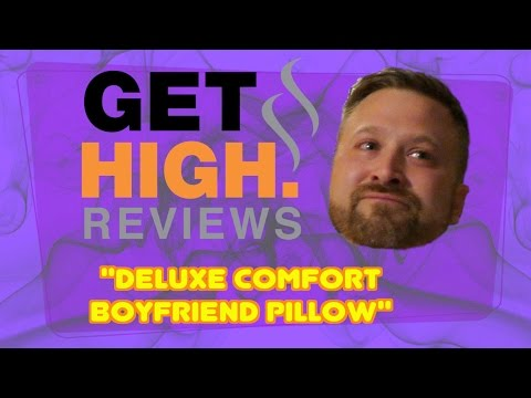 Guy Gets High and Reads Ridiculous Amazon Reviews - Deluxe Comfort Boyfriend Pillow with Arm