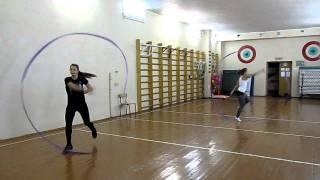 тренировка с лентами - Eclipse гимнастика.(5 ноября 2011 года Тренировка www.eclipse-dance.ru., 2011-11-05T22:55:26.000Z)