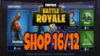 SHOP FORTNITE today 16 DECEMBER: new skins TIRO PRECISO and INTUITION