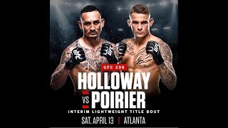 Holloway Vs Poirier 2 (Full Fight) - UFC 236