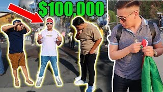 WEARING A FAKE $100,000 OUTFIT IN LA!! (SUPREME, BAPE, ROLEX, AIR MAGS)
