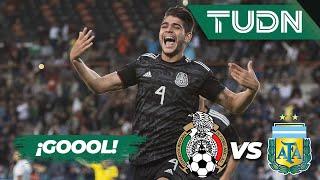 ¡Gool de México! | México 1 - 0 Argentina | Amistosos - Internacional  | TUDN
