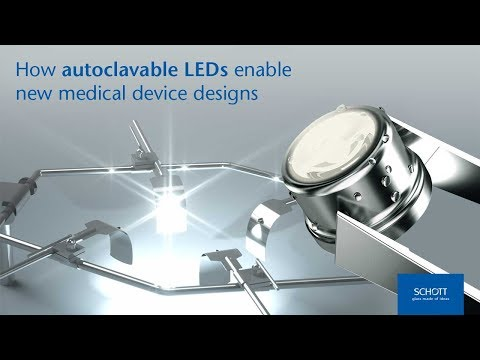 How Autoclavable LEDs Enable New Medical Device Designs