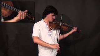 Tcha Limberger - Transylvanian Folk Music - Gypsy Violin (Lesson Excerpt)