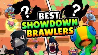 THE BEST BRAWLERS FOR SHOWDOWN IN BRAWL STARS! JUNE META 2019
