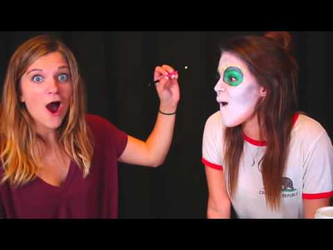 DIY Sugar Skull Makeup Tutorial for HALLOWEEN!