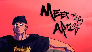 Cheia de Manias - Raça Negra [lofi remix]- Fan Animated Music Video #meetheartist