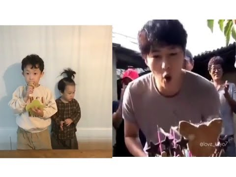 Birthday song from Hojin and sijin for their uncle ❤❤❤celebration Birthday Song joong ki
