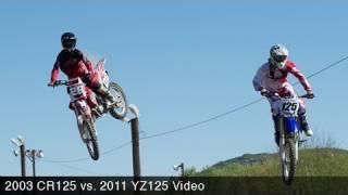 2003 Honda CR125 vs. 2011 Yamaha YZ125 - MotoUSA