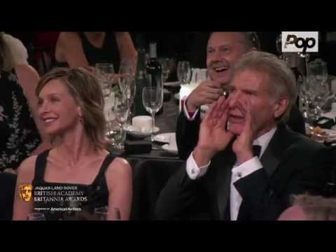 J.J. Abrams Makes a Bet with Harrison Ford - 2015 #Britannias