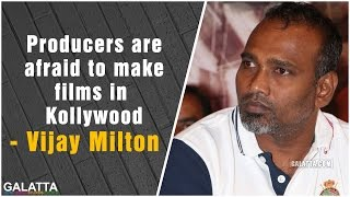 #Vijay Milton speech at #Pazhaya Vannarapettai audio launch