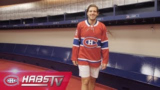 Ben Chiarot's First Day As A Hab