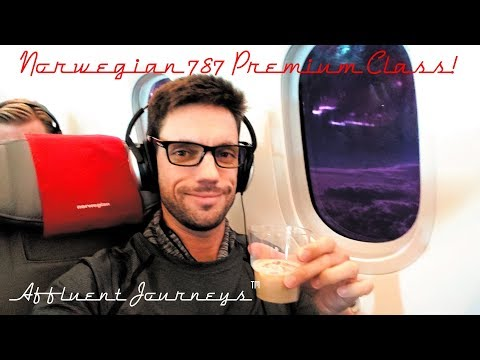 Norwegian Air Premium Class! 787 Dreamliner FLL-GTW
