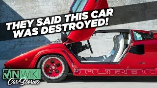 I found the missing Countach Turbo