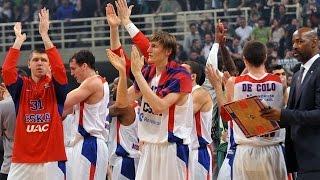 Highlights: Panathinaikos Athens-CSKA Moscow, Game 4