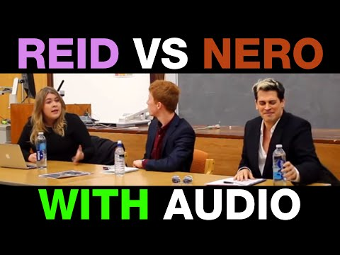 Milo VS Rebecca Reid - WITH BETTER AUDIO