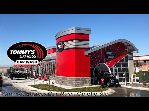 Tommy's Express Car Wash: Omaha Site - Inside View - Visits 1/2
