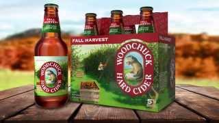 Woodchuck Seasonal Fall Harvest Cider! Same Cider, Brand New Six-pack!