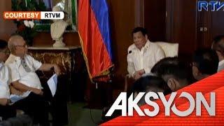 Babala ni Pres. Duterte sa water shortage