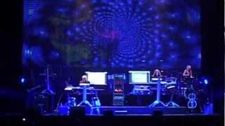 Tangerine Dream Live in Zürich 2012: »Girl On The Stairs/Mädchen auf der Treppe« (11/16)