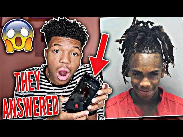 I CALLED YNW MELLY JAIL...you wont believe what happened (HE ANSWERED)
