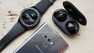 Living With Samsung Galaxy Buds & Gear S3 Frontier!
