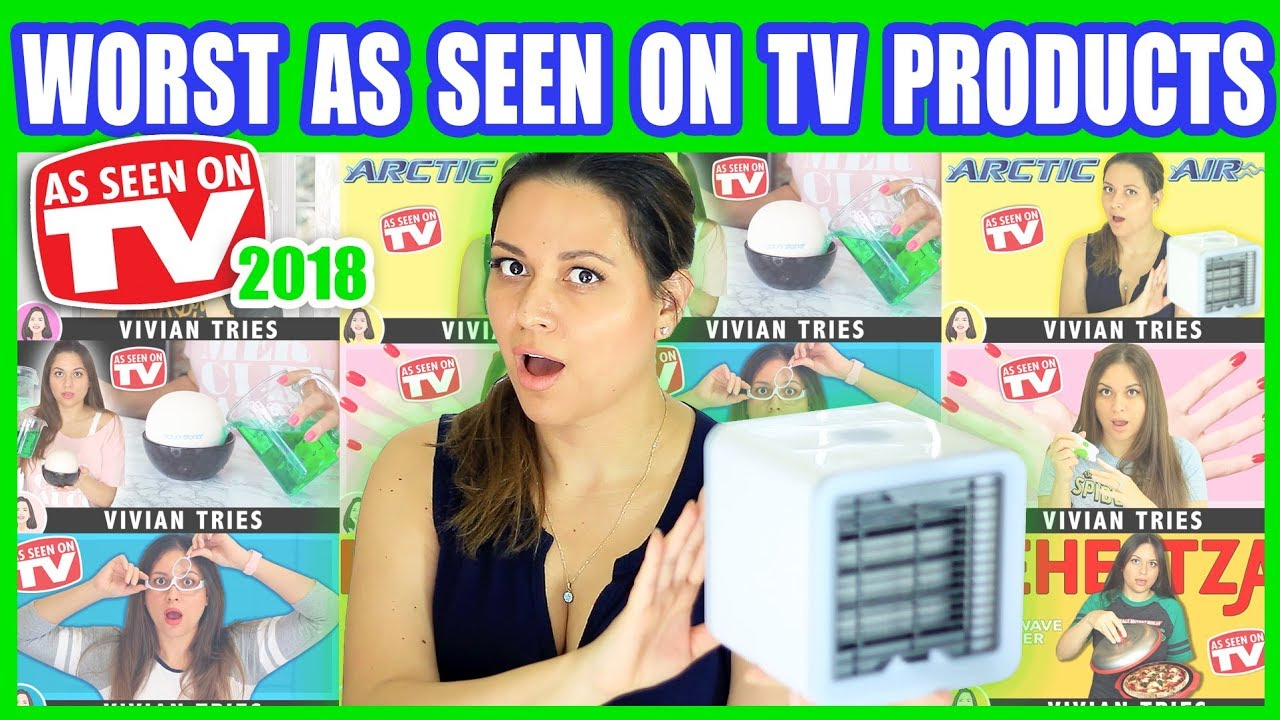 worst as seen on tv products 2018 year in review youtube. Black Bedroom Furniture Sets. Home Design Ideas