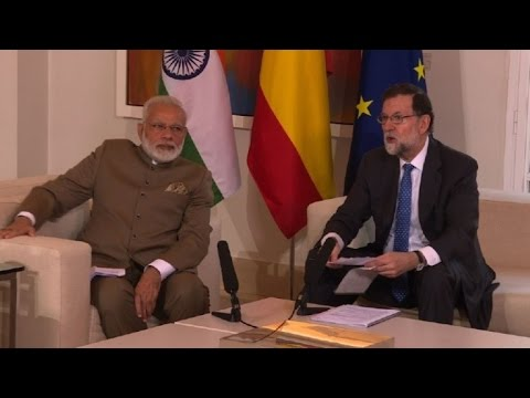 Modi in Spain on four-nation Europe tour