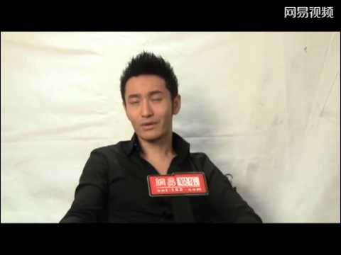 Huang Xiaoming 黄晓明  long interview from Dec 2012 talking about injury and recent roles