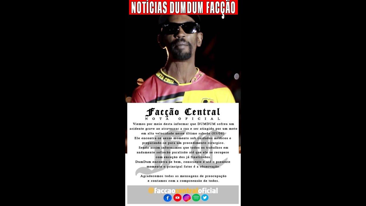 DUMDUM FACÇÃO CENTRAL NOTA DE ESCLARECIMENTO