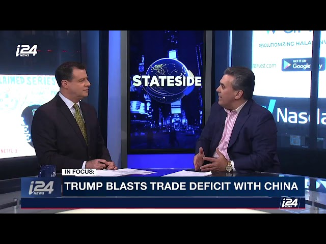 Trump Casts Doubt over China Trade Talks i24 News Interview w/Tom Maoli