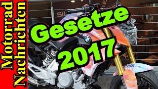 Neue GESETZE 2017 für Motorradfahrer | A2, Höhere STRAFEN, Änderungen | Motorrad Nachrichten