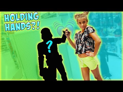 JAYLA HOLDS HANDS WITH A BOY FOR THE FIRST TIME!!