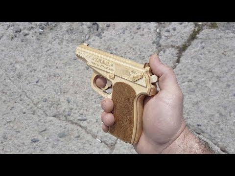 Как сделать пистолет боевой своими руками из дерева