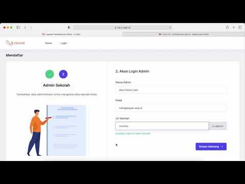 Tutorial Video Cara Mendaftar E-ujian.id