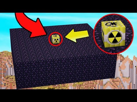 NUKE VS 100 OBSIDIAN BLOCKS   Minecraft