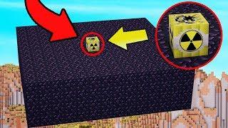 NUKE VS 100 OBSIDIAN BLOCKS | Minecraft