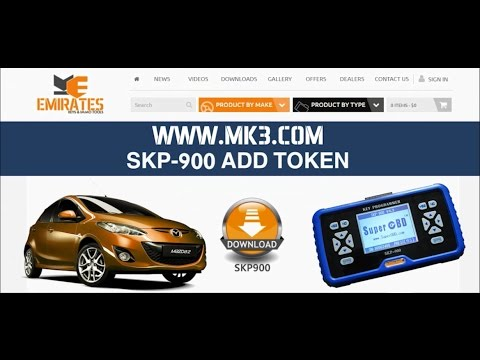 HOW TO ADD TOKEN FOR SKP900