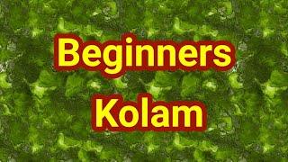 7 dots Kolam // Online Rangoli