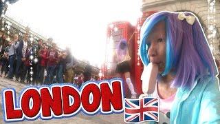 LONDON VLOGG/VLOG | Dag 1-4, resa dit, första gången...,  rilakkuma, taiyaki, camden town + Haul