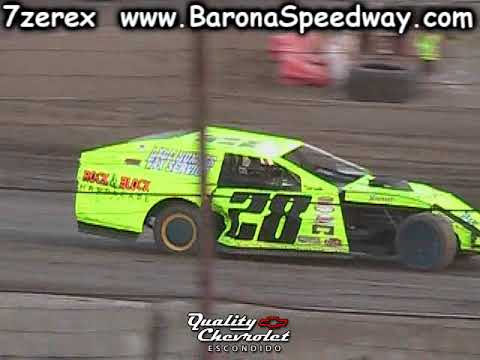 IMCA Modified Heat 1 Barona Speedway 10-21-2017
