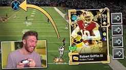 I GLITCHED RGIII to throw like this  -- Madden 20 Ultimate Team Gameplay