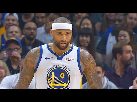 DeMarcus Cousins Warriors Debut Impresses Stephen Curry & Kevin Durant Warriors vs Clippers