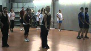 """We No Speak Americano"" - Swing Jazz Techno Charleston - ZUMBA with ROCHELLE!"